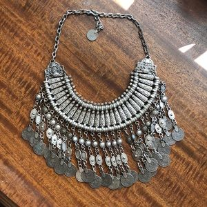 Free People coin statement necklace